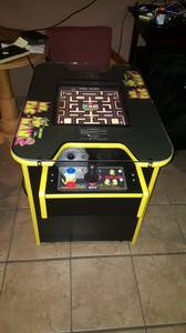 BRAND NEW 60 in 1 COCKTAIL TABLE ARCADE GAME MS. PACMAN GALAGA
