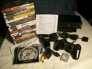 PS2 System with 21 Games!! - Playstation 2 (Fort Wayne)