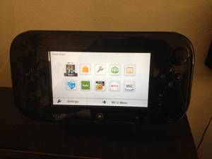 Wii U - 8GB Black Console + Games (Brownsburg)