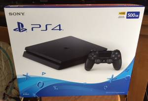 Brand New Unopened Box PS4 Playstation 4 Slim 500GB!! (Rockford)