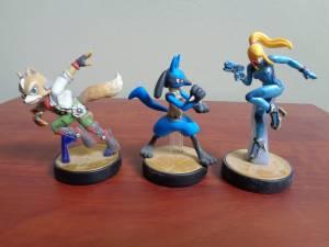 WiiU & Nintendo 3DS Amiibos $5.00ea-excellent condition-Take a LOOK!!!