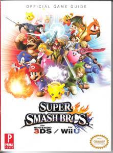 Official Game Guide for Super Smash Bros. Nintendo 3DS/WiiU (Grayslake)