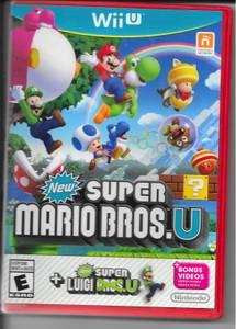 WiiU Games Mario Brothers & Pokken Tournament w/card-one owner (Grayslake)