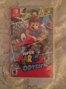 Mario Odyssey For Nintendo Switch never opened