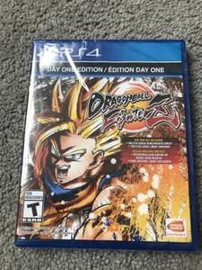 Dragon Ball Fighterz Day 1 Edition PS4 Brand New Sealed! (Irving)