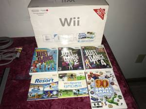Wii gaming system in excellent condition