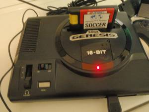 SEGA GENESIS VIDEO GAME CONSOLE 16 BIT 1 GAME Works Great (Southampton/Bucks