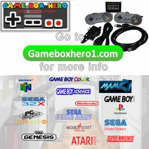 OMG All the video games from when you were a kid in 1 console save $$ (