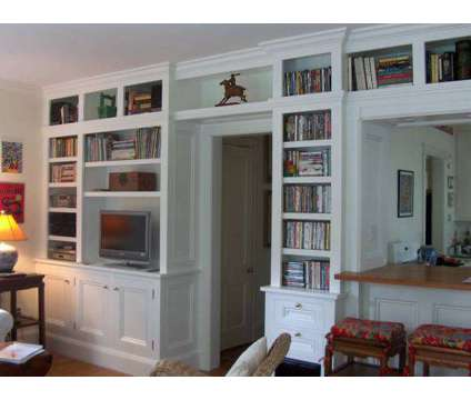Custom Built-Ins ~ Bookcases ~ Window Seating ~ Crown Molding ~ Finish Carpenty