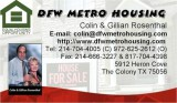 Let DFW Metro Housing Help you sell your home in Days