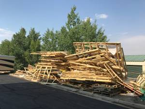 Free Scrap Wood!! (Fun Center-Durango)