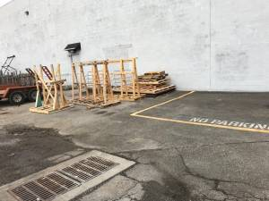 Wood Pallets (By Sams Club)