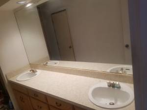 Huge Glass Mirror (Hickory Creek)