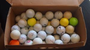 Box of Practice Golf Balls (Lancaster)