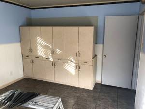 Free storage cabinets (Euless)