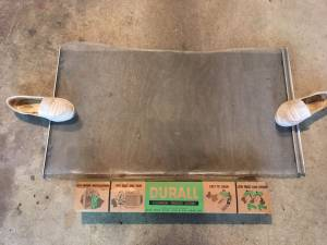 Vintage: Durall Aluminum Tension Screen (w/orig. 1960's box) (Alexandria)