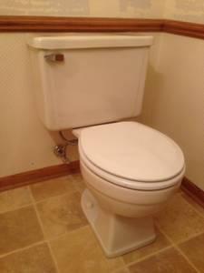 Toilet - beige (Waukesha)
