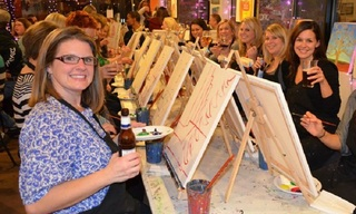 Business For Sale: Stress Free Traveling Painting Party