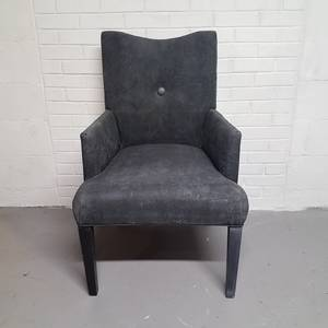 Free upholstered armchair