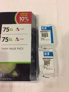 HP Inkjet ink cartridges - unopened (Maltby)