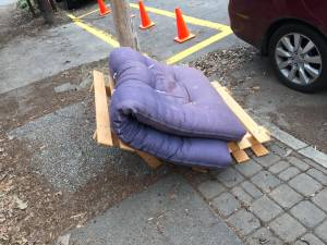 Free Small Futon (Midtown)