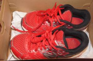 Boys New Balance Shoes - Youth Size 2 Wide (Morrisville, NC)