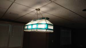 FREE POOL TABLE LIGHT (Peachtree Corners)
