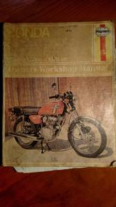 Shop Manual for Honda CB100, CB125J, CB125S, SL125 Motorcycle (Fair)