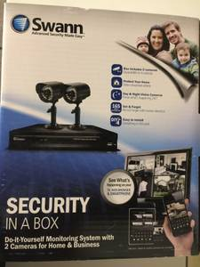 FREE - Swann 2-camera, DVR, security system (College Park)
