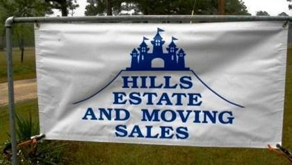 Hills Estate Sales Serving Jasper, Newton, Hardin, Jefferson, Tyler Counties