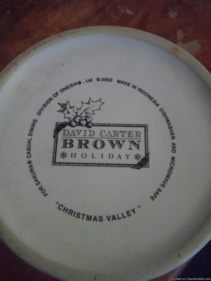 David Carter  coffee cups 2002