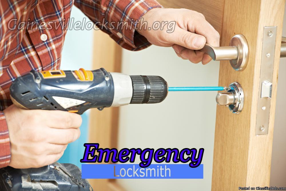 Emergency Locksmith in Gainesville
