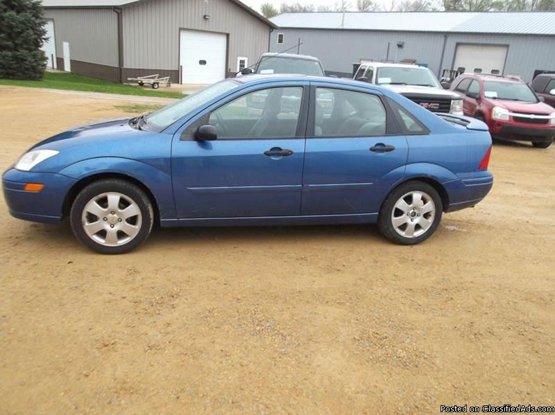 2002 Ford Focus good car with good tires and a moon roof. 92 k miles with a...