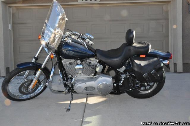 MUST SELL: 2002 Harley Davidson Softail Standard