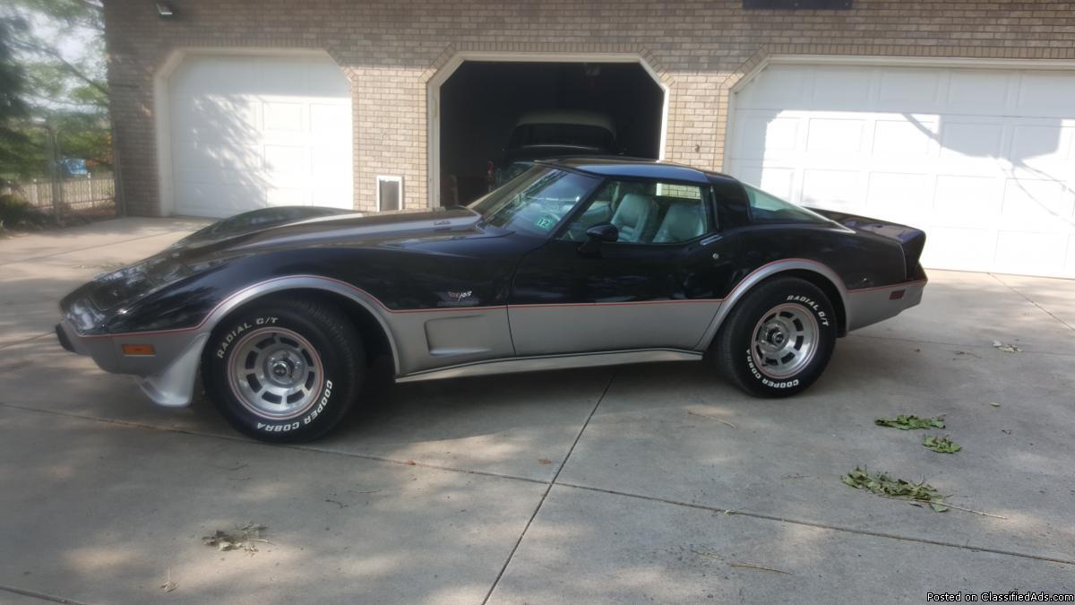 1978 Chevy Corvette 25th Anniversary Edition