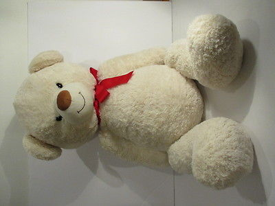 HALLMARK white TEDDY BEAR