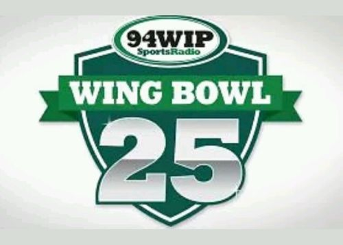 1 Ticket 2/3/17 Wing Bowl 25 Wells Fargo Center PA Wing bowl Philadelphia