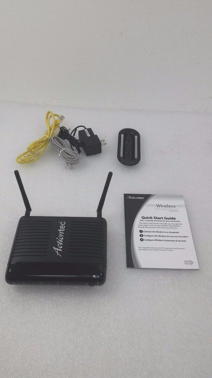 Actiontec GT784WN 300 Mbps 4-Port 10/100 Wireless N Router #29563