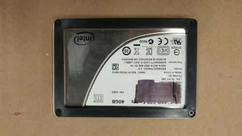 Intel SSD 320 Series 40GB Solid State Drive SSDSA2CT040G3