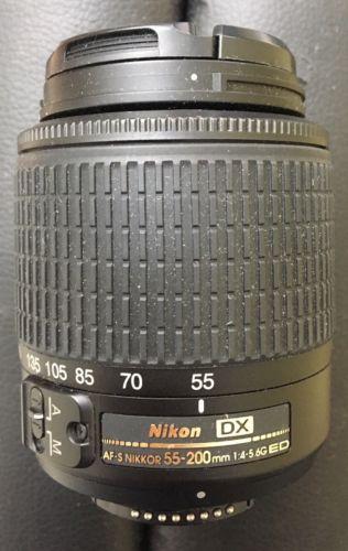 Nikon NIKKOR 55-200mm f/4.0-5.6 DX G AF-S VR IF-ED Lens