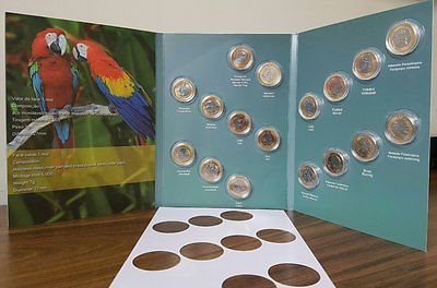 Album 17 Coins Complete Collection Coins Olympic Games Rio 2016 Brazil
