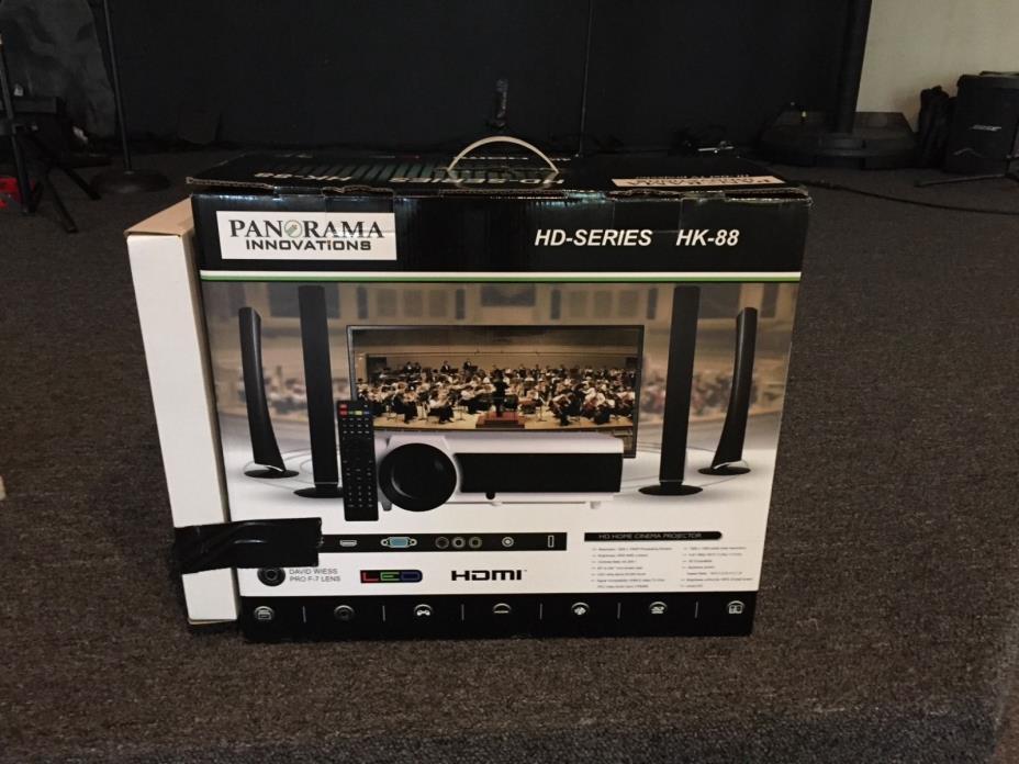 Panorama HD Home Cinema Projector