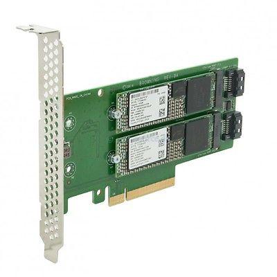 HP Dual 120GB VE M2 SSD Kit 777894-B21 777259-002 759505-001