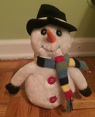 NWT THE CHILDRENS PLACE HOLIDAY PLUSH SNOWMAN 8