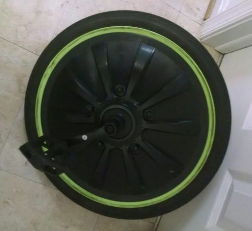 Huffy Green Machine 20 Inch Front Wheel with Tire Tube  and Pedals
