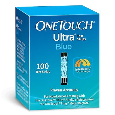 200 One Touch Ultra Blue 3/2018 NEW NIB Perfect Condition Sealed