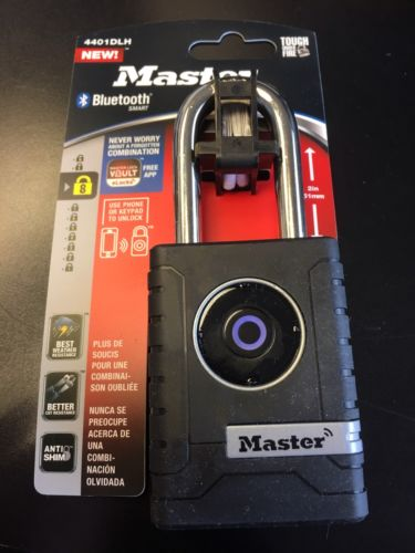Master Lock Smart Bluetooth Padlock - 4401DLH NEW!