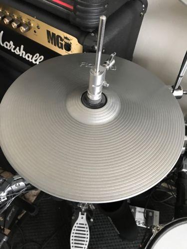 Roland VH-12 Hi hat Drum Cymbals VH12sv 11 vh12 vh-12 - EXCELLENT