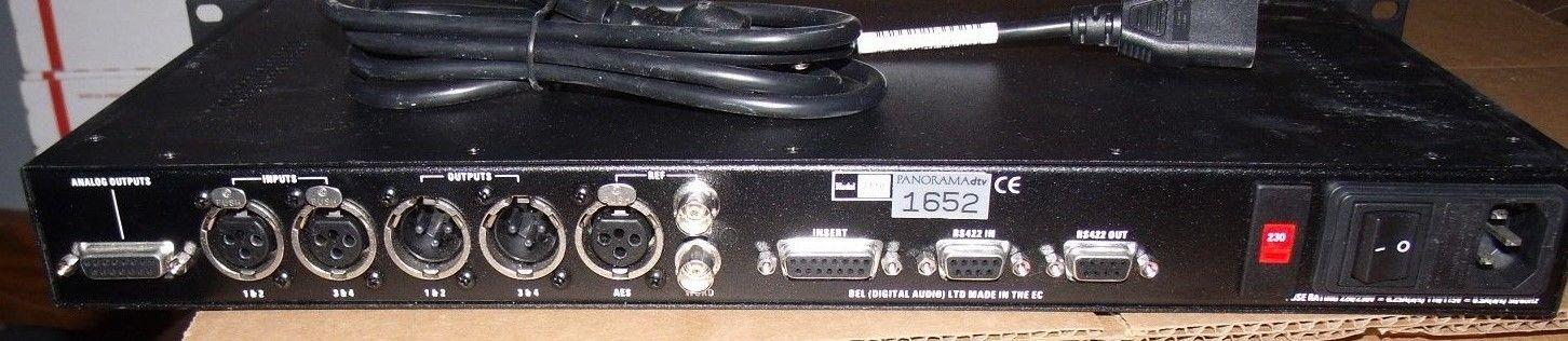 Wohler Panorama DTV Digital Audio Monitor Panel AES +