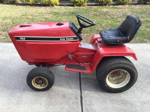 782 Cub Cadet Garden Tractor : Cub cadet tractor for sale classifieds